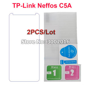 2 PCS For TP-Link Neffos C5A Tempered Glass Screen Protector 9 H Safety Protective