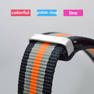 Image 4 - Fashion Nylon Watchband Nato Strap G10 for Omeg a for IW C Sports Watchstrap 007 for Seiko Colorful Bracelet 19mm 20mm 21mm 22mm