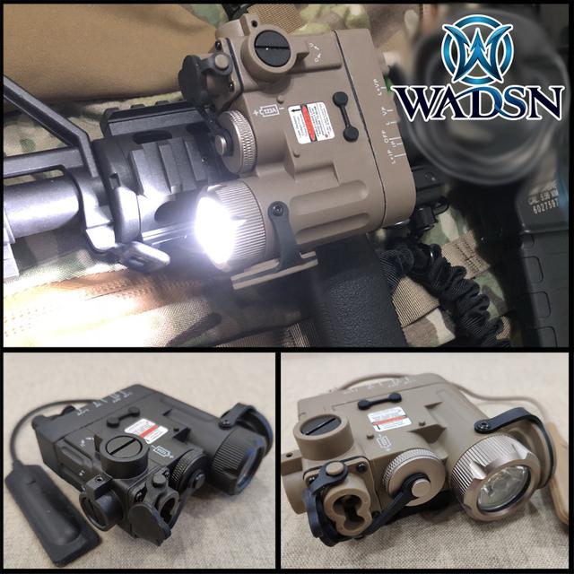 DBAL-D2 Illuminator DBAL-EMKII Multifunction Weapon Lights   IR Laser Tactical Flashlight Made by WADSN