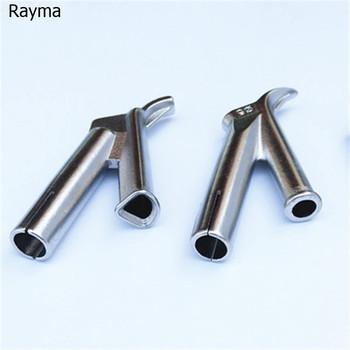 5mm 8mm prędkość dysza spawalnicza okrągła trójkątna końcówka do spawania dla plastikowego Leister spawacz Rayma marka spawacz 1pc tanie i dobre opinie RM-5-7 plastic welding PP PVC PE