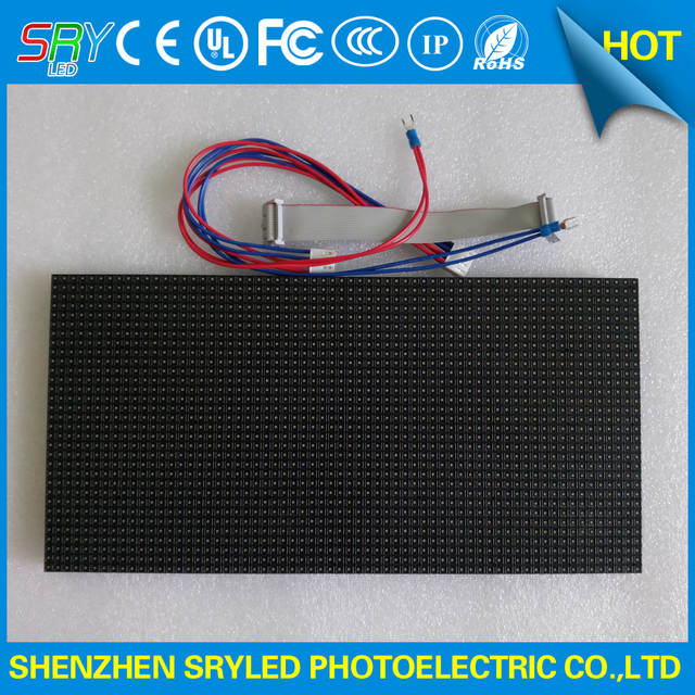 P5 indoor RGB LED Screen 64 x 32 pixel led display module