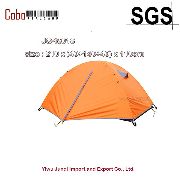2 person New Waterproof Anti UV Double Layer Tent Outdoor Hiking Camping Tent 3 4 person windproof waterproof anti uv double layer tent ultralight outdoor hiking camping tent picnic tent with carrying bag