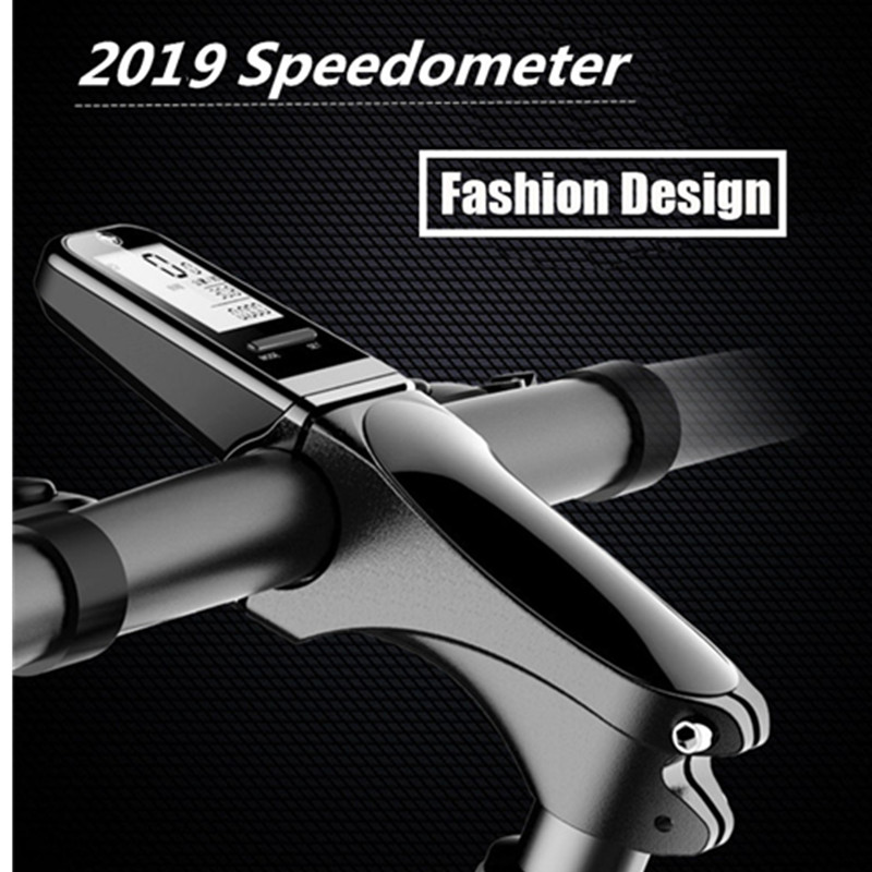 Bicycle Bike Computer MTB Road Stem with Speedometer Cycling Stopwatch Bike Wireless English USB Charge Accessories