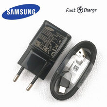 original samsung Galaxy s9 Charger s8 plus 9V/1.67A adaptive fast charging adaptor quick charge usb type C cable for note 8