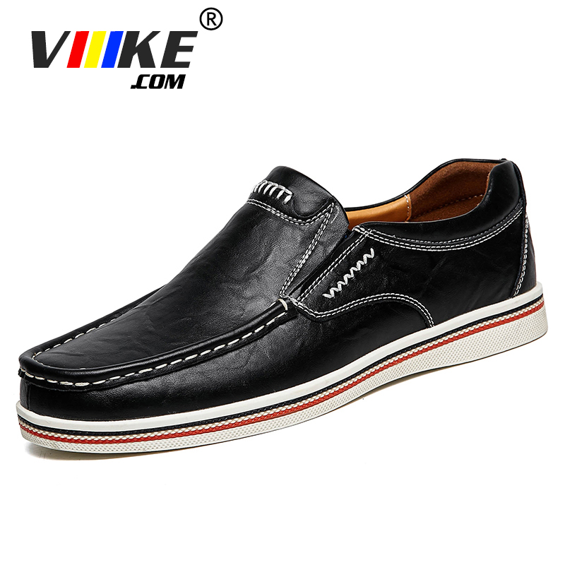 Main à coudre Hommes Véritable Bateau En Cuir Chaussures Casual Appartements Mocassins Homme Conduite Mocassins Chaussures à Lacets Été Mocassins Hommes Chaussures