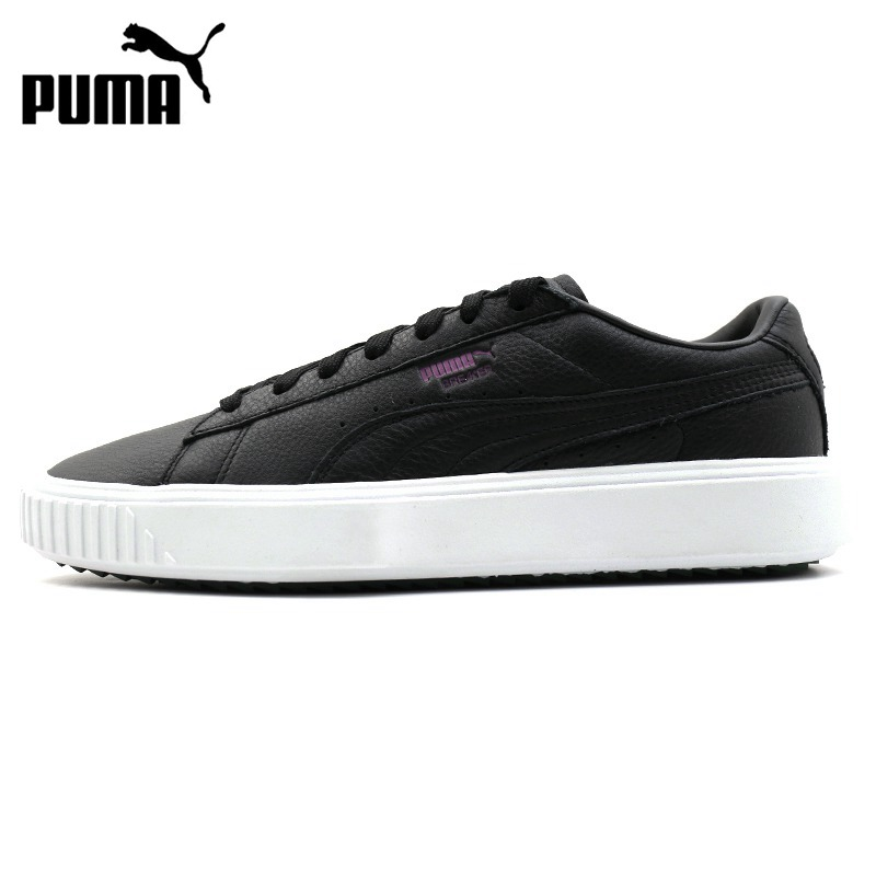Original New Arrival  PUMA Breaker Leather Unisex Skateboarding Shoes Sneakers
