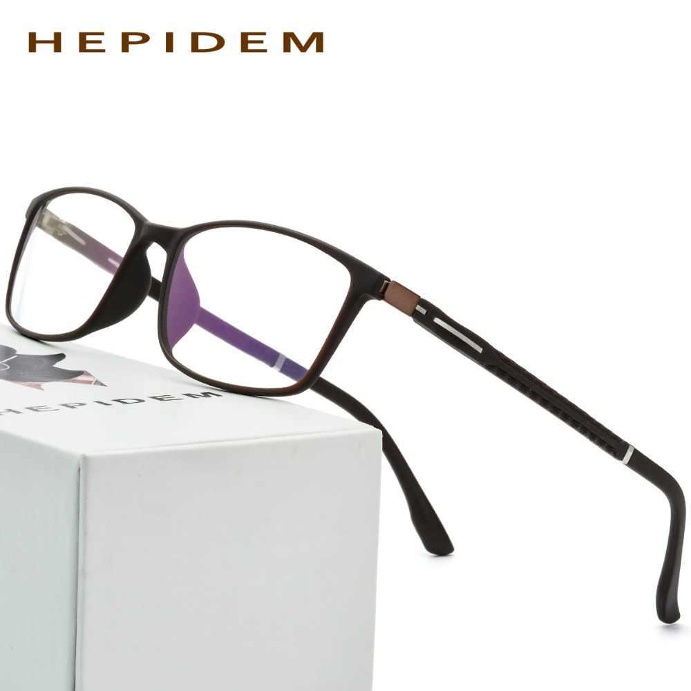 51a63aa8be TR90 Glasses Frame Men Women New Ultralight Square Prescription Eyeglasses  Myopia Optical Frame Morten Clear Transparent