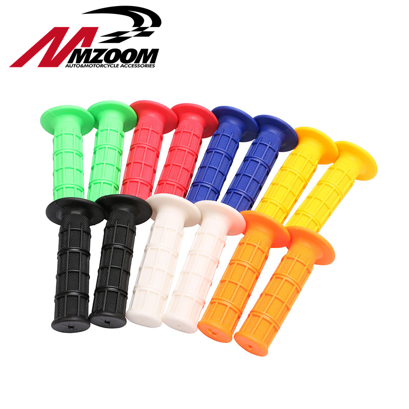 7 Color Gel Rubber Handlebar Grips For CRF YZF WRF KXF KLX KTM RMZ Pit Dirt Bike Motocross Motorcycle Enduro MX Offroad