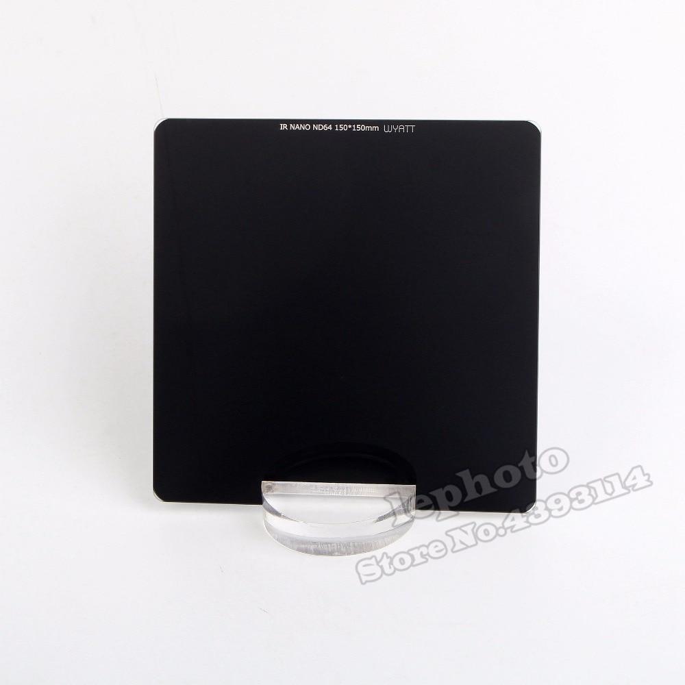 WYATT 150x150mm IR NANO MC Neutral Density Filter ND 1000 64 8 3 6 10 Stop