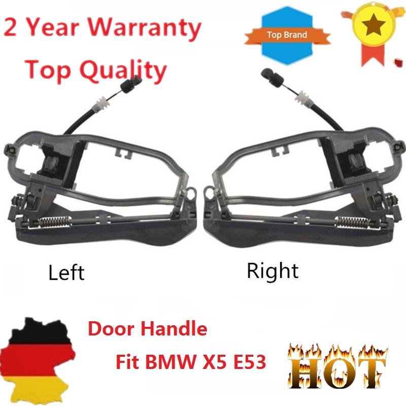 2 pieces 51218243615, 51218243616 For BMW X5 E53 LH Driver Side ...