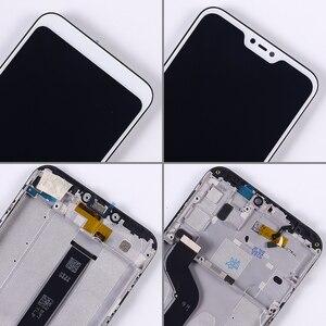 """Image 5 - Wyświetlacz LCD 5.84 """"dla Xiao mi Red mi 6 Pro montaż digitizera ekranu dotykowego rama szklana folia dla Xiao mi mi A2 Lite LCD"""