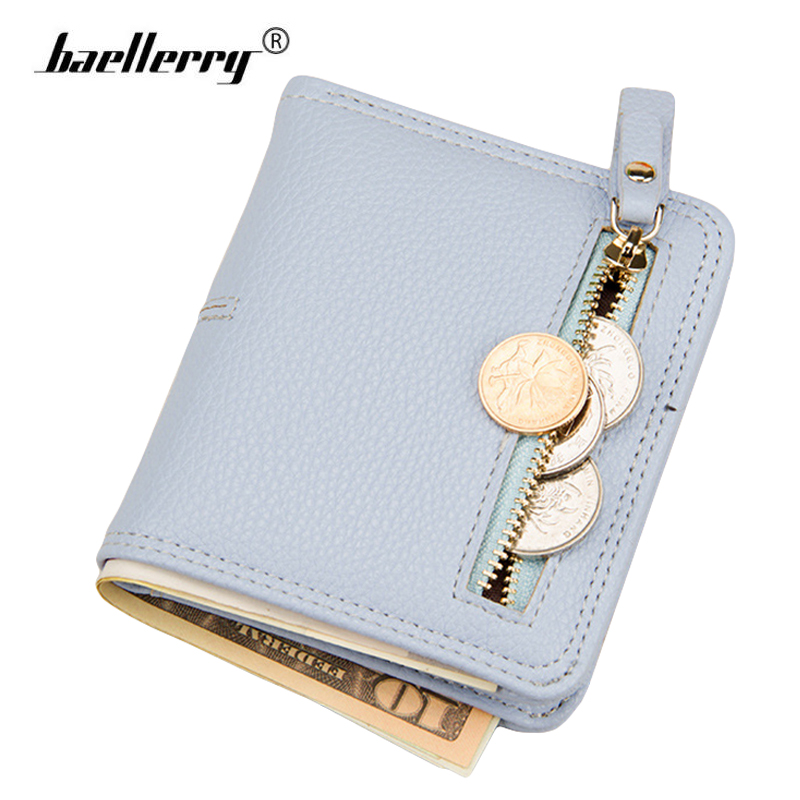 Women Wallet Leather Female Short Card Holder Coin Purse Girl Brand Mini Billfold Minimalist Thin Wallets portefeuille femme simple organizer wallet women long design thin purse female coin keeper card holder phone pocket money bag bolsas portefeuille