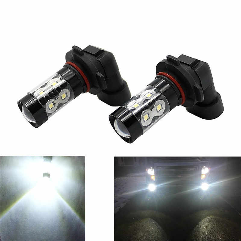 50W 6000K LED Fog Light Bulbs Extremely Super Bright H10 9145 For Chrysler 300, 300C, 300C With HID 2005-2009 Bulb or Fog Lights