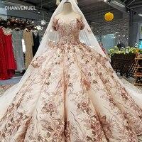 LS46548 платье люксРоскошные специальные Дубай торжественное платье Милая с плеча свадебное платье с длинной накидкой реальная цена сделано в