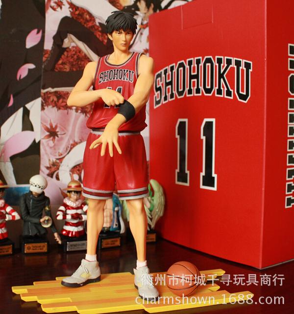26cm Slam Dunk Rukawa Kaede Action Figures PVC brinquedos Collection Figures toys for christmas gift