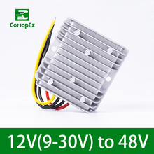 9V-30V to 48V 2.1A 5A 6A Step Up DC Converter Boost Regulator Waterproof Voltage Transformer for Car Radio Solar Panel