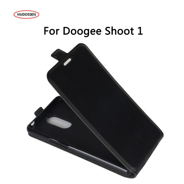 HUDOSSEN For DOOGEE Shoot 1 Case New Arrival 5 Colors Fashion Luxury Leather Phone Protective Cover For DOOGEE Shoot 1 Case Caso
