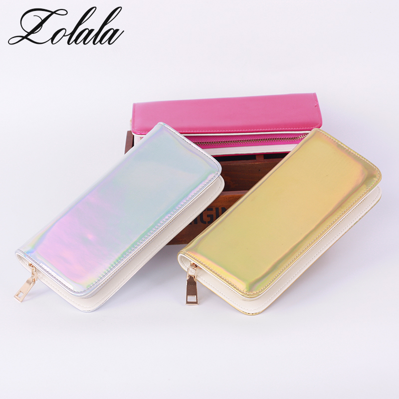 Zolala Fashion Bags Women Leather Hologram Wallet Style Wallet Female Clutch Purses Long Brand Money Purse Credit Card Wallets zolala fashion bags women leather hologram wallet style wallet female clutch purses long brand money purse credit card wallets