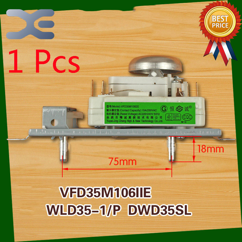 1Pcs Microwave Spare Parts Timer Oven VFD35M106IIE WLD35-1/P DWD35SL Microwave Oven Timer