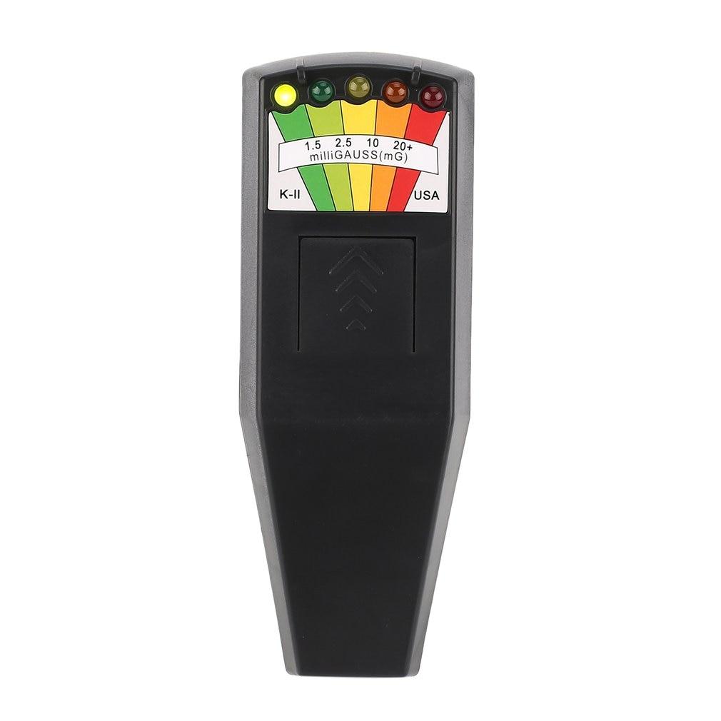 EMF Meter Electromagnetic Radiation Detectors Handheld Digital LCD Dosimeter Tester for electric field radiation magnetic field emf meter handheld mini digital lcd emf detector electromagnetic field radiation tester dosimeter tester counter