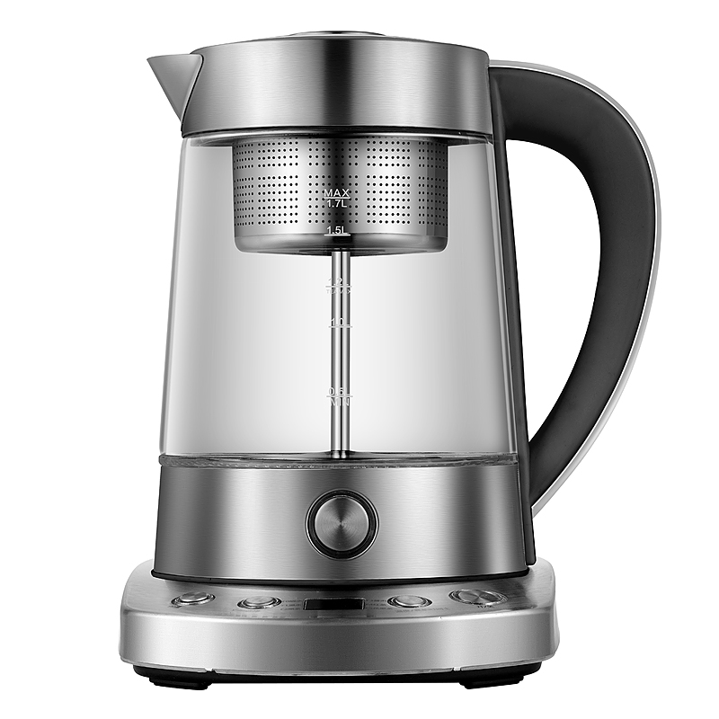 купить Electric kettle Full automatic glass steam boiling tea pu 'er black brewing pot electric steaming Safety Auto-Off Function недорого