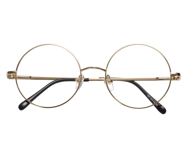 777084312beba 49mm Tamanho Retro Óculos de Armação De Óculos Vintage Harry Potter Estilo  Rodada Quadros de Óculos