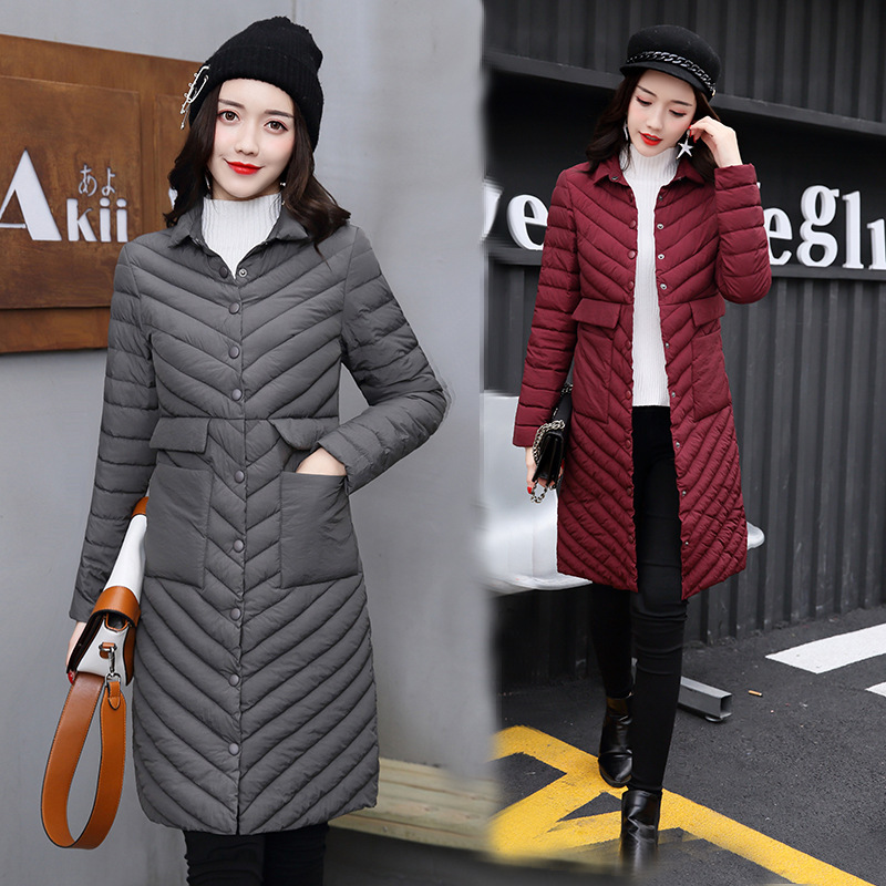 2018 Winter Parkas New Cotton Girls Korean Slim Fur Coat Fashion Warm Jacket Women Parkas Coat