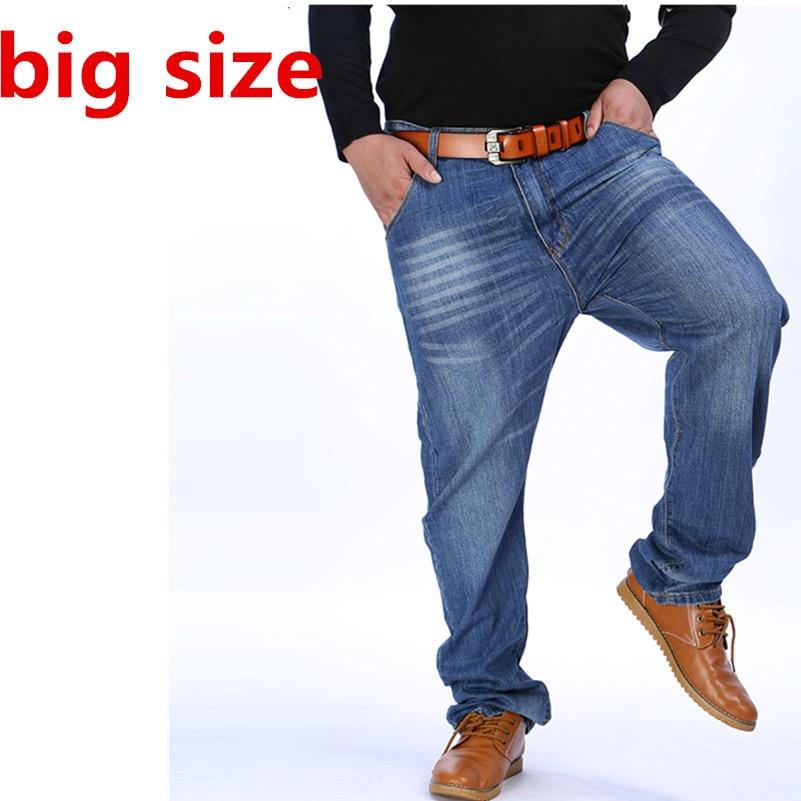 plussize 8XL7XLMen Classic Whiskering Jeans Fashion Casual Jeans Pants Straight Denim Jeans Masculina Male Denim Trousers Cotton 2017 mens brand jeans fashion casual male denim pant trousers cotton classic straight jean homme masculina pepe pants for men 40