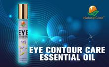 NaturalCure EYE CONTOUR CARE ESSENTIAL OIL, Remove Eye Circle Blackness, Lighten Up Skin Around Eyes, Remove Fine Wrinkles