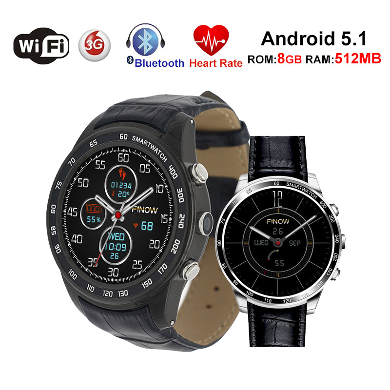 Q7 Plus 3G Smart Watch Bluetooth Men Women Watch Android 5.1 ROM 8GB RAM 512MB Camera Heart Rate GPS Wifi Smartwatches PK X5 Air