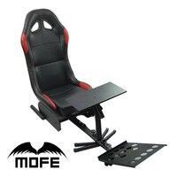 Dobrável Evolução Cockpit Simulador de jogo de corrida Assento Com Apoio da Roda de Direcção + Pedal + Suporte da Alavanca de Câmbio