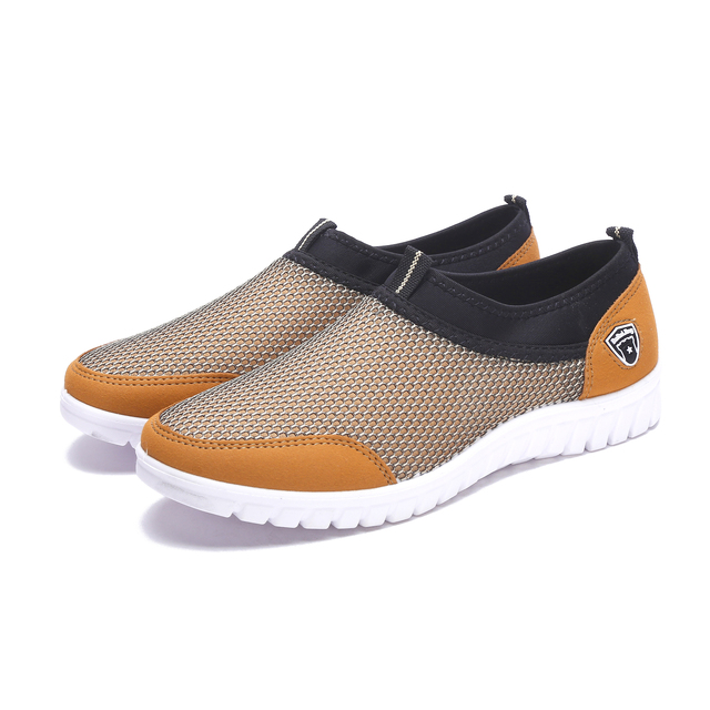 Summer Mesh Sneakers For Men Loafers Casual Walking 2