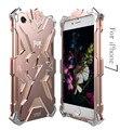 7 o Projeto Original de metal Shell de Alumínio Fresco Metal THOR IRONMAN proteger telefone capa shell casos para iphone 7 se 5 5S 5c 6 6 s além de