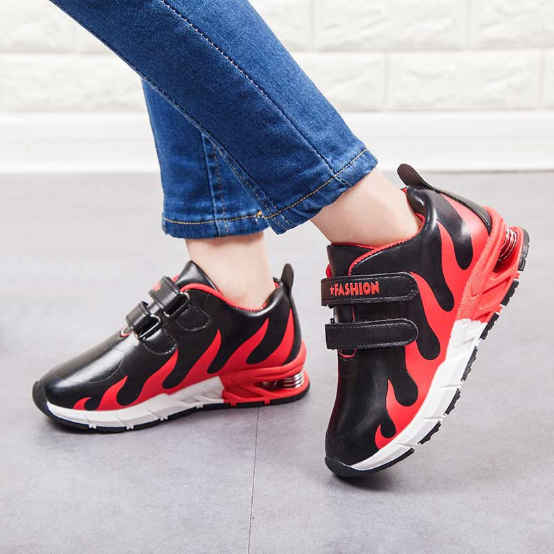 Children Casual Shoe Boys Girls Fashion Air Cushion Sport Runing Shoes 2018 Spring Autumn Kids Student School Skate Shoes#010