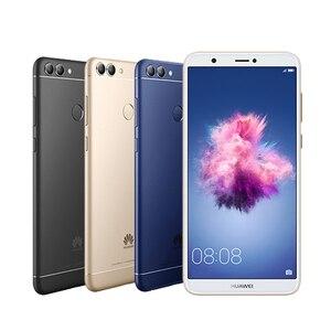Image 4 - Huawei Godere 7S Huawei P smart 4GB 64GB Kirin 659 Android 8.0 schermo da 5.65 pollici 13.0 macchina fotografica di retrovisione di impronte digitali ID smart phone