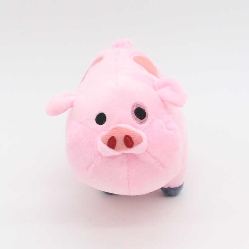 SELLWORLDER 1 pcs 16 cm Filme Gravity Falls Ginga Kawaii Porco Cor de Rosa de Pelúcia Brinquedos Animais