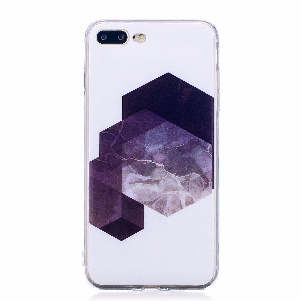 ARYIKUM Marble Silicone Case For apple iPhone 7 Plus For iphone 7Plus iPhone7 Plus Phone Accessories Cover For iPhone7Plus Coque