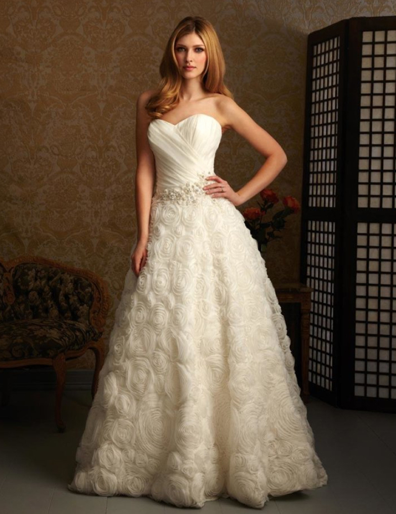Latest Wedding Dresses And Their Prices : New fashion cheap price white ivory sweetheart a line bridal wedding