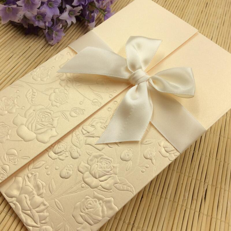 20pcs/pack Invitations Card Bowknot with Envelope DIY Blank Inner Sheet Convex Pattern Flowers Wedding Business Party Invitation global elementary coursebook with eworkbook pack