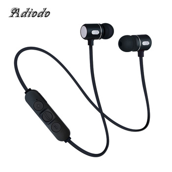 Bluetooth Headset Youth version 4.1 with USB Charging line Headphones Sports Earphone Build-in Mic Sports Neckband headphone