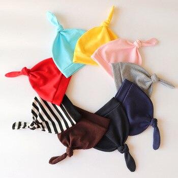 Czapki dla dzieci Cute Tail czapka płodu dla noworodka czapki z dzianiny Solid Color Boy Girls czapka czapki dla dzieci cieplej Bonnet nieformalna czapka