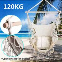 150cm Outdoor Causal Hammock Nordic Style Garden Dormitory Bedroom Hanging Chair Child Adult Swinging Safety Chair For Nooning