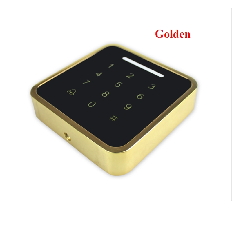 Metal Rfid Access Control Keypad Support 3000 Users 125KHz ID Card Reader Electric Digital Password Door Lock wg input rfid em card reader ip68 waterproof metal standalone door lock access control with keypad support 2000 card users