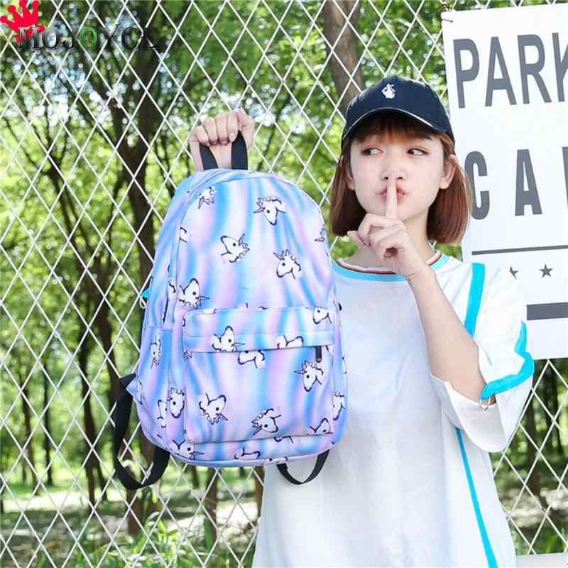 Mochila feminina impressão animal de viagem macio bagpack gato notebook para meninas mochilas escolares mochila feminina sac a dos femme