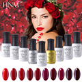 HNM 24 P Colors UV Gel Nail Polish 8ML Long Lasting Gel Polish Gel Lak Nail Art Gel Varnish Gelpolish Vernis Semi Permanent