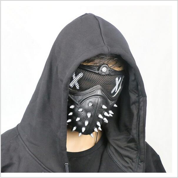 US $42 99 |00 Watch Dogs 2 Dedsec Aiden Pearce Wrench Mask Helmet Eyepatch  Face Muffle Cosplay-in Costume Props from Novelty & Special Use on