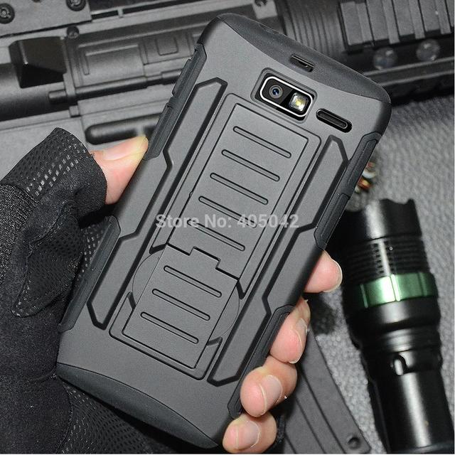 Hybrid Protective Armor Case Cover Holster Belt Clip For Motorola Droid Razr M/I XT907 XT890