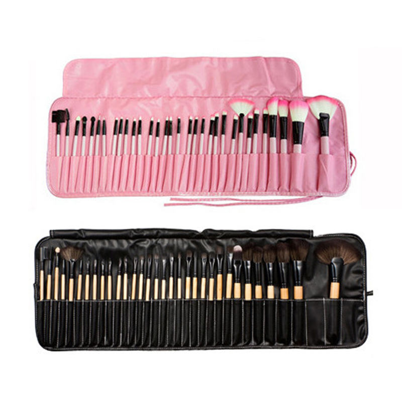 Makeup Too 32pcs Professional Soft Eyeshadow Brush Eyebrow Shadow Makeup Brush Set Kit Case Make Up Accessories