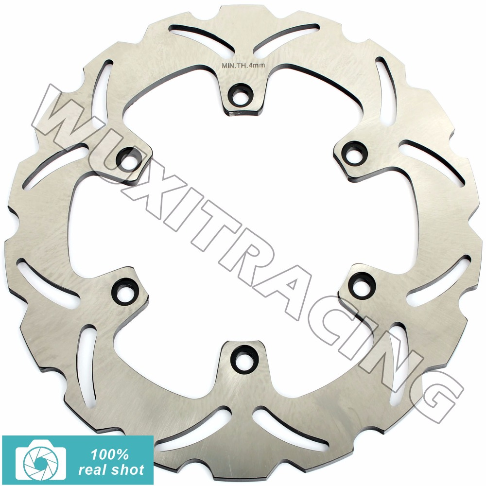 BIKINGBOY Front Brake Disc Rotor for CAGIVA CANYON 500 600 1995-00 1996 1997 1998 1999 ELEFANT 750 900 1990 1991 1992 1994 1995 2 pieces motorcycle front disc brake rotor scooter front rear disc brake rotor for honda cb400 1994 1995 1996 1997 1998