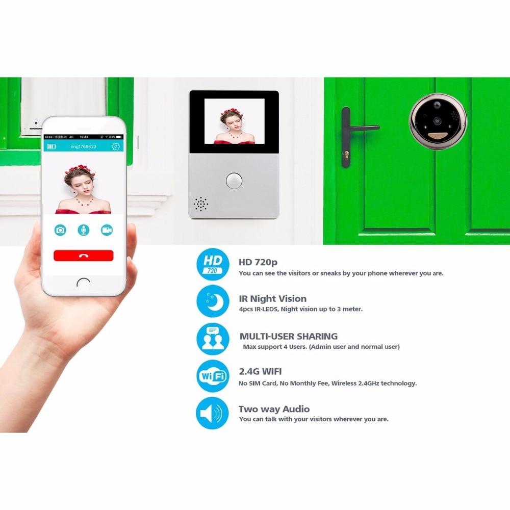 TIVDIO Video Intercom WiFi 2.8
